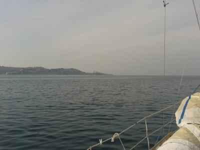 Pogled na Piran v daljavi