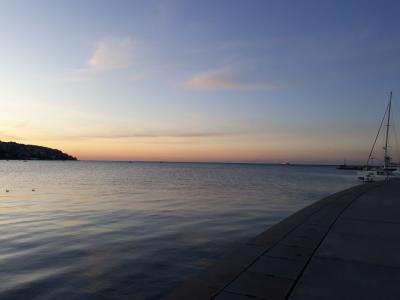 Sončni zahod v Kopru