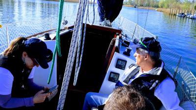 Posadka na krovu LILJE