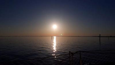 Februarski sončni zahod