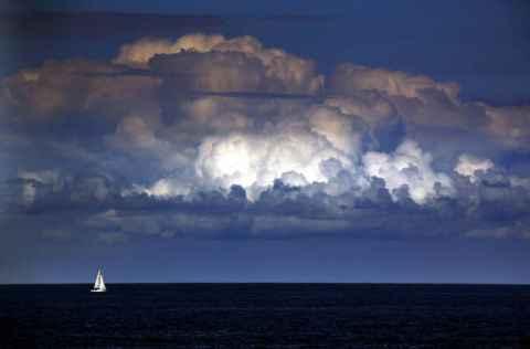 Nevihta na morju