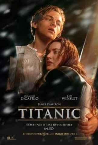 Naslovnica filma Titanic