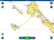 Prepluta pot Lošinj - Susak
