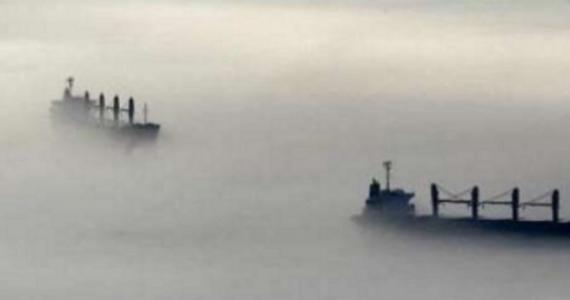 Megla na morju